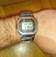 Casio G-SHOCK GMW-B5000D Argento FULL METAL QUADRATO 35th Anniversario Ltd