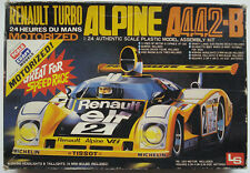 ALPINE-Renault A442 Turbo LeMans 1978 Winner - Motorized 1/24 LS kit