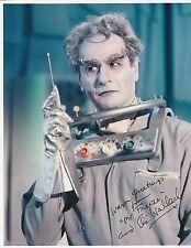 Eli Wallach as Mr. Freeze Autographed Photo/Classic Batmam Villain/Batman TV