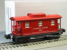 MTH LIONEL TINPLATE 2657 RED CABOOSE 11-5510-1 O GAUGE train metal tin 11-5510-C