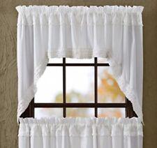 Country Ruffled Curtains, Drapes U0026 Valances | EBay