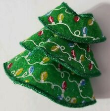 BARBIE DOLL CLOTHES CHELSEA MADISON KELLY GREEN CHRISTMAS TREE DRESS HOLIDAY