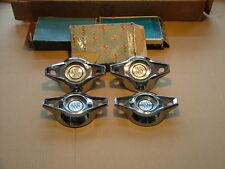 1964 Buick Skylark wheel cover center caps NOS! spinners, flippers, hub caps