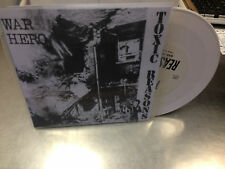 "Toxic Reasons War Hero 7"" White Vinyl RSD 2014 Beer City"