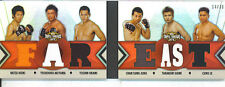 Chan Sung Jung/Yushin Okami X4 2013 Topps UFC Knockout Triple Threads Booklet