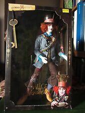 * Vendeur Britannique * RARE BARBIE Johnny Depp Alice in Wonderland Mad Hatter doll
