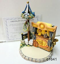 M I Hummel Goebel Puppet Theatre Scape Coa - New In Box