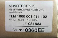 Nuovo Novotechnik TLM-1000-001-411-102 Viaggi Sensore TLM1000001411102