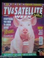 TV & SATELLITE WEEK - BABE - 12 JULY 1997