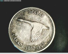 1967 Canada, Goose,  High Grade, Slv  (Can-272)
