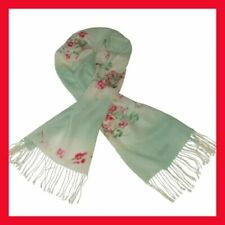Écharpes et châles verts en laine pour femme