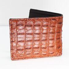 GENUINE CROCODILE Leather Skin MEN'S BIFOLD WALLET #NW2903