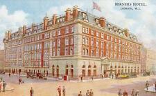 Berners Hotel London W1  Advertising unused old pc