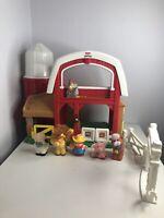 Fisher Price Little People Animal Farm Barn with Animals&Farmer108