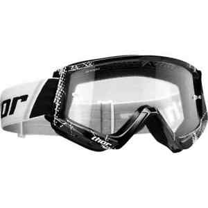 Thor MX Black Combat Web Youth Off Road Dirt Bike ATV Sports Motocross Goggles