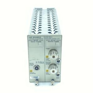 83481A AGILENT OPTICAL AND ELECTRICAL MODULE OPT 017 040