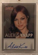 2015 Alexis Knapp Panini Americana Autograph Card  AU Auto  Pitch Perfect Projec