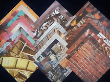 12X12 Scrapbook Paper Cardstock American Crafts Industrial Modern Photo Real 24