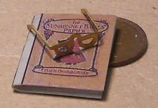 Libro de escala 1:12 & par de gafas de lectura Casa De Muñecas Accesorio Gafas 393