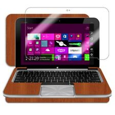 Skinomi Light Wood Tablet Skin+Screen Protector for HP Envy x2 with Keyboard