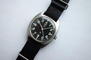 Original - CWC W10 - Englische Militäruhr von 1977 - Hacking seconds