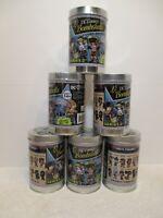 DC Comics - Lil' Bombshells Series 2 Vinyls - 6 Factory Sealed Tins -