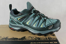 Salomon X Ultra 3 Wide GTX Trainers Low Shoes Sneakers Trainers Green New