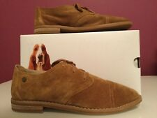 Women's Hush Puppies Aiden Clever Camel Suede Size 8W and Size 9.5 W