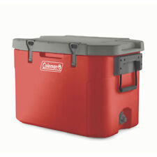 Coleman 3000005611 85 Quart Heavy Duty Antimicrobial Super Cooler, Red