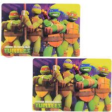 Tmnt Tortugas Ninja Comedor Salvamantel 2 Piezas Miguel Ángel Raphael Leonardo