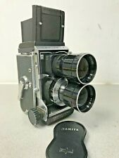 Mamiya C3 6X6 professional camera with f4.5 180mm Lens for Portrait Photos JAPAN