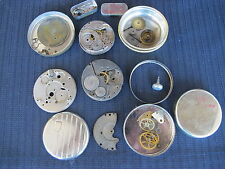 Elgin Pocket Watch Parts, Fix, Repair, or Steam Punk 28299576 29055744