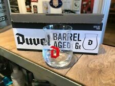 6 stuks Duvel barrel aged glas verre glass new 6 pieces in box 16,5 cl