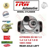 FOR CITROEN ZX N2 1.1 1.4 1.6 1.8 1.9 D 1991-1992 REAR AXLE Left WHEEL CYLINDER