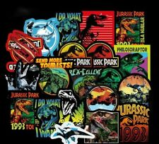 75Pcs Jurassic Park Dinosaur Stickers - Books Skateboard Laptop Phone Tablets
