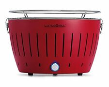 Lotusgrill Grill de table sans Fumée diverses Couleurs couleur Rouge