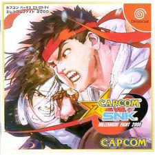 CAPCOM vs. SNK - Millenium Fight 2000 + Spine  SEGA DREAMCAST  NTSC-J  JPN / JAP