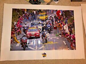 Tour de France Lance Armstrong Poster