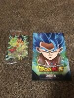 Broly Dragon Ball Z The Movie Card Set Promo Collector Items P-068 PR Sealed HTF