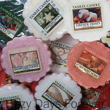 10 YANKEE WAX TARTS MELTS Christmas Winter Fragrances Assorted XMAS SCENTED
