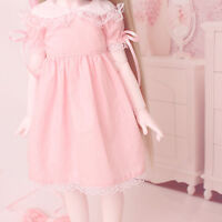1/3 1/4 1/6 BJD Doll BJD/SD Clothes Pink Lovely Dress For Baby Girl Accessories