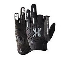 Hk Army Pro Gloves Charcoal Grey Black paintball glove Medium M Md Med New