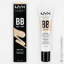 "1 NYX BB Cream "" BBCR01 - Nude "" Oil Free & Mineral infused Joy's cosmetics"