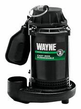 Wayne  1/2 hp 3900 gph Cast Iron  Submersible Sump Pump