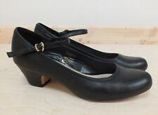 Jones The Bootmakers Low Heel Shoes Black Size UK 5 /EU 38 Point (Hol)