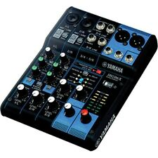 Yamaha MG06X 6-Channel Mixer with Built-In Digital Effects New