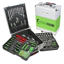 STARKMANN Greenline Werkzeug-Trolley Set mit ergonomischen Handgriffen 399teilig