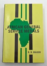 EUC HTF Hardcover African General Service Medals Book by R.B. Magor 1993 Edition