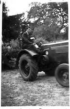 44 SAINT-PHILBERT PHOTO FETE DE LA TERRE TRACTEUR AGRICOLE TRACTOR 1947