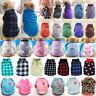 Coat Puppy Warm Cute Pet Clothes Knitwear Fleece Dog Sweater Jumper Winter Cats